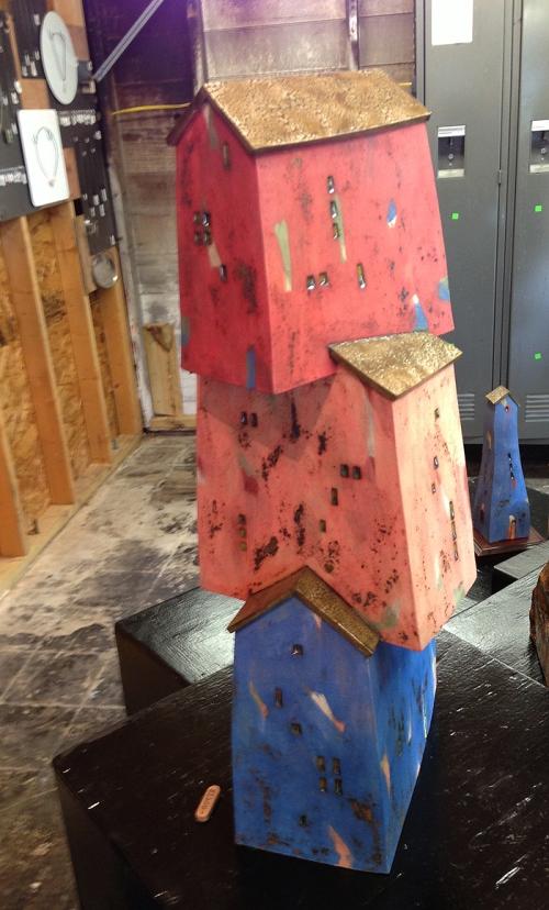 Slab home - clay - by artist Todd Van Duren, Austin, TX
