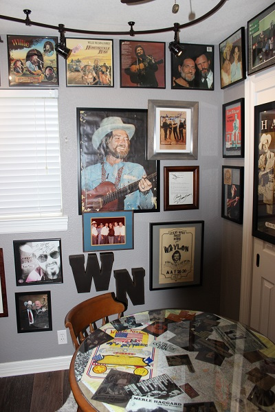 No respectable bar in the Austin area would miss a collage of the renowned WN