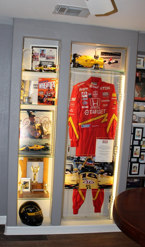 View of the completed Vasser display area