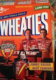 Jimmy V on the Wheaties box